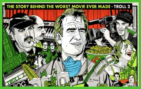 BEST WORST MOVIE ART