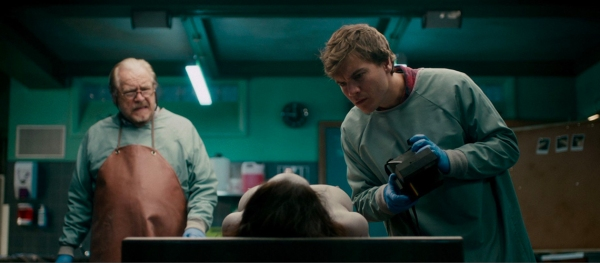 Brian Cox and Emile Hirsch star in The Autopsy of Jane Doe